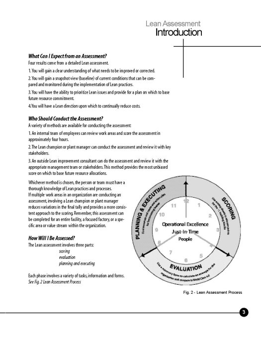 The Lean Assessment