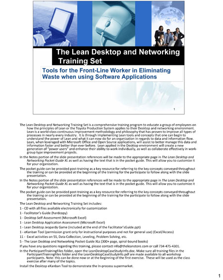 The Lean Desktop and Networking Training Set