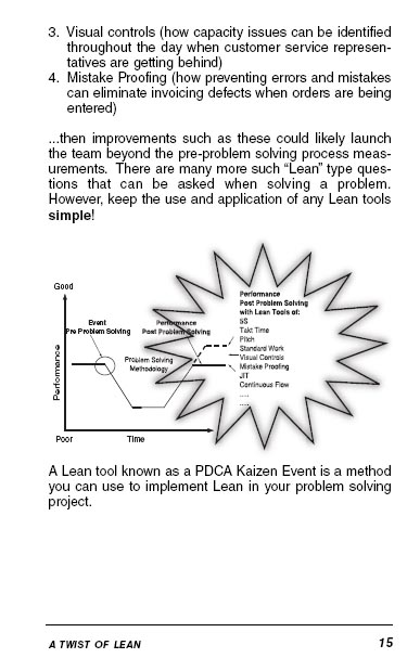 The Simply Lean Pocket Guide - Perfect Bound
