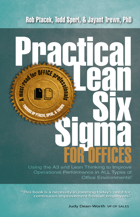 Practical Lean Six Sigma For Offices The Lean Store